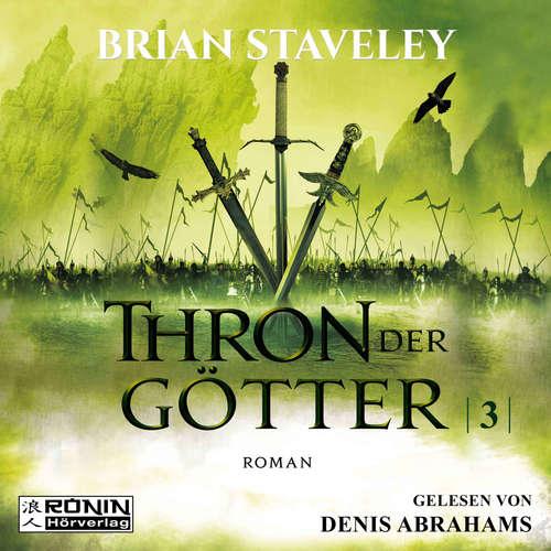 Hoerbuch Thron der Götter - Die Thron Trilogie 3 - Brian Staveley - Denis Abrahams