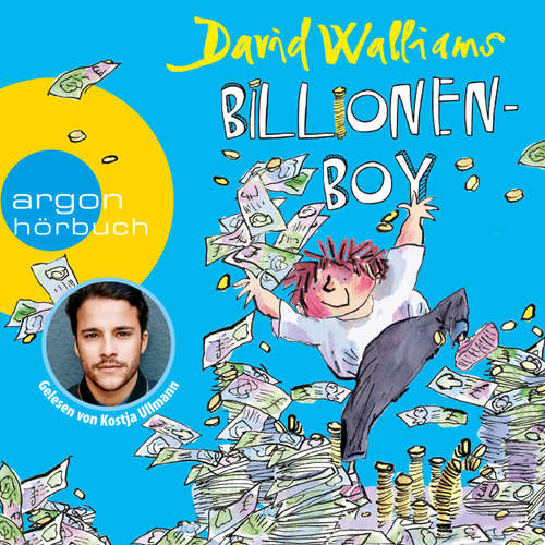 Hoerbuch Billionen-Boy - David Walliams - Kostja Ullmann