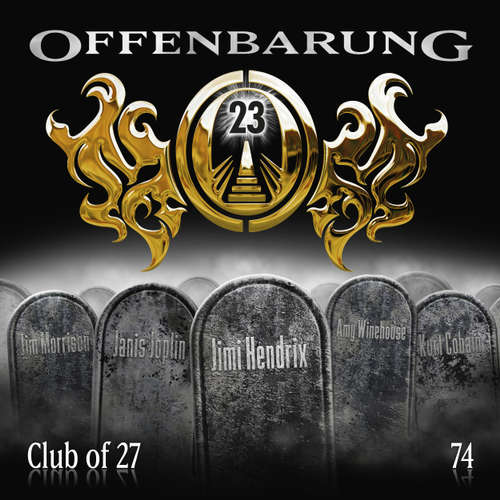 Hoerbuch Offenbarung 23, Folge 74: Club of 27 - Catherine Fibonacci - Alexander Turrek