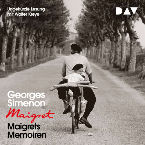 Hoerbuch Maigrets Memoiren - Georges Simenon - Walter Kreye