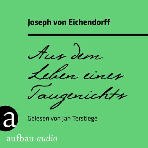 Hoerbuch Aus dem Leben eines Taugenichts - Joseph von Eichendorff - Jan Terstiege