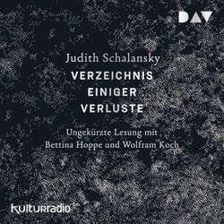 Verzeichnis einiger Verluste - Judith Schalansky (Hoerbuch)