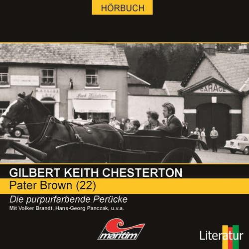 Hoerbuch Pater Brown, Folge 22: Die purpurfarbene Perücke - Gilbert Keith Chesterton - Volker Brandt