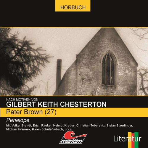 Hoerbuch Pater Brown, Folge 27: Penelope - Maureen Butcher - Volker Brandt