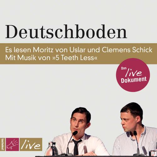 Hoerbuch Deutschboden - Moritz von Uslar - Moritz von Uslar