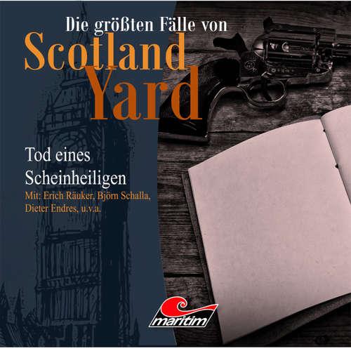 Hoerbuch Die größten Fälle von Scotland Yard, Folge 15: Tod eines Scheinheiligen - Andreas Masuth - Erich Räuker