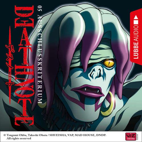 Hoerbuch Death Note, Folge 5: Ausschlusskriterium - Tsugumi Ohba - David Turba
