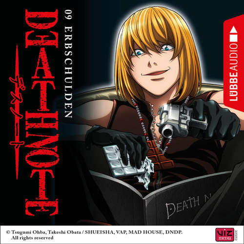 Hoerbuch Death Note, Folge 9: Erbschulden - Tsugumi Ohba - David Turba