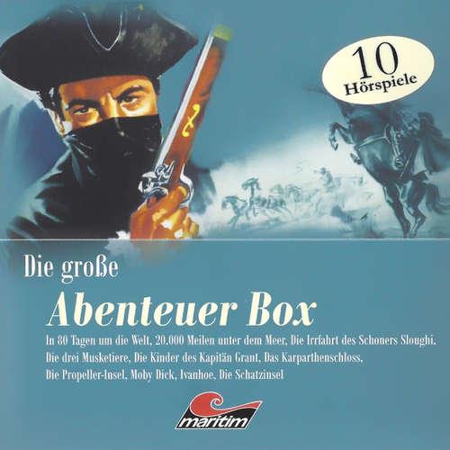 """Hoerbuch Die große Abenteuerbox, Die große """"Maritim""""-Abenteuerbox - Alexandre Dumas - Eberhard Krug"""
