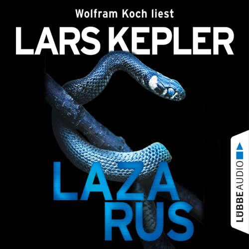 Hoerbuch Lazarus - Joona Linna 7 - Lars Kepler - Wolfram Koch