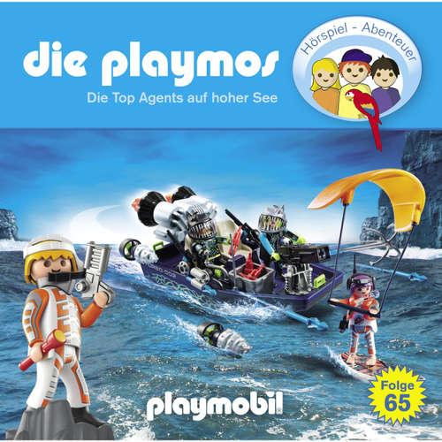 Hoerbuch Die Playmos, Folge 65: Die Top Agents auf hoher See - Simon X. Rost - Gerrit Schmidt-Foß