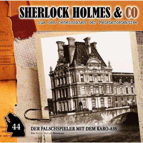 Hoerbuch Sherlock Holmes & Co, Folge 44: Der Falschspieler mit dem Karo-Ass - Paul Burghardt - Paul Burghardt