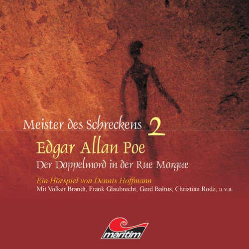 Hoerbuch Meister des Schreckens, Folge 2: Der Doppelmord in der Rue Morgue - Edgar Allan Poe - Frank Glaubrecht
