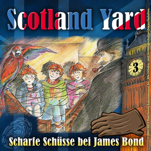 Scotland Yard, Folge 3: Scharfe Schüsse bei James Bond