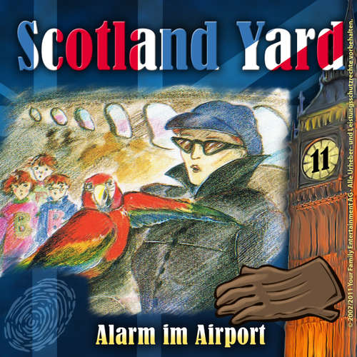 Hoerbuch Scotland Yard, Folge 11: Alarm im Airport - Wolfgang Pauls - Günther Lüdke