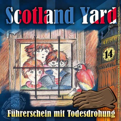 Hoerbuch Scotland Yard, Folge 14: Führerschein mit Todesdrohung - Wolfgang Pauls - Günther Lüdke