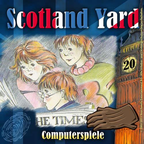 Hoerbuch Scotland Yard, Folge 20: Computerspiele - Wolfgang Pauls - Freddy Quinn