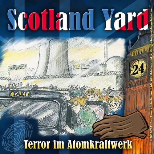 Hoerbuch Scotland Yard, Folge 24: Terror im Atomkraftwerk - Wolfgang Pauls - Freddy Quinn