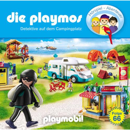 Hoerbuch Die Playmos - Das Original Playmobil Hörspiel, Folge 66: Detektive auf dem Campingplatz - David Bredel & Florian Fickel - Gerrit Schmidt-Foß