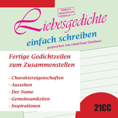 Hoerbuch Liebesgedichte einfach schreiben - Fertige Gedichtzeilen zum Zusammenstellen - Nomen Nominandum - Omid-Paul Efthekari