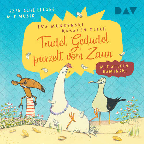 Hoerbuch Trudel Gedudel purzelt vom Zaun - Eva Muszynski - Stefan Kaminski