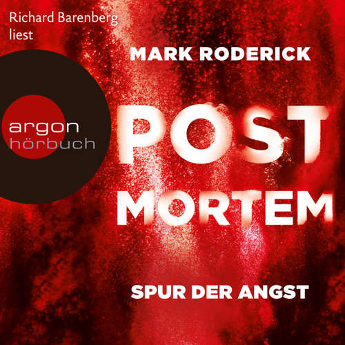 Hoerbuch Post Mortem - Spur der Angst - Mark Roderick - Richard Barenberg