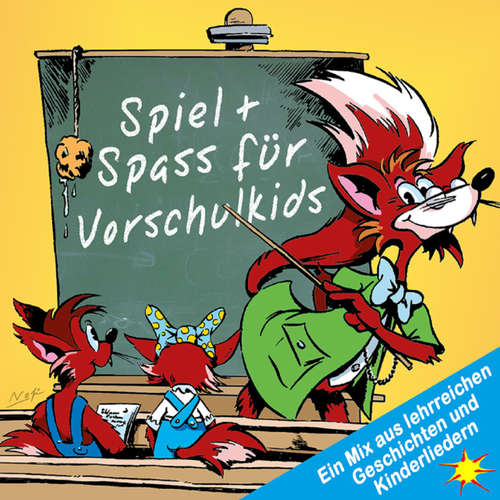 Hoerbuch Spiel + Spass für Vorschulkids - Ein Mix aus lehrreichen Geschichten und Kinderliedern - Peter Huber - Diverse Sprecher