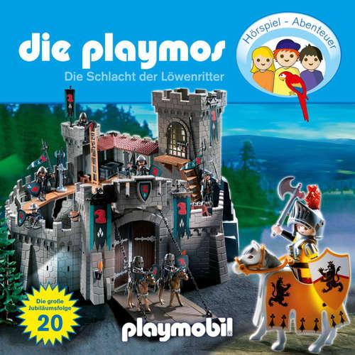 Hoerbuch Die Playmos - Das Original Playmobil Hörspiel, Folge 20: Die Schlacht der Löwenritter - Simon X. Rost - Gerrit Schmidt-Foß