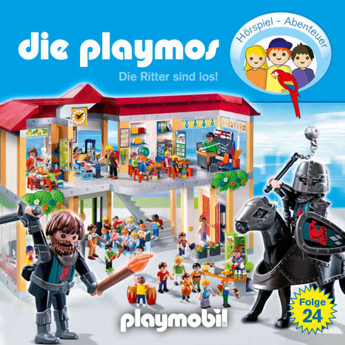 Hoerbuch Die Playmos - Das Original Playmobil Hörspiel, Folge 24: Die Ritter sind los! - Simon X. Rost - Gerrit Schmidt-Foß