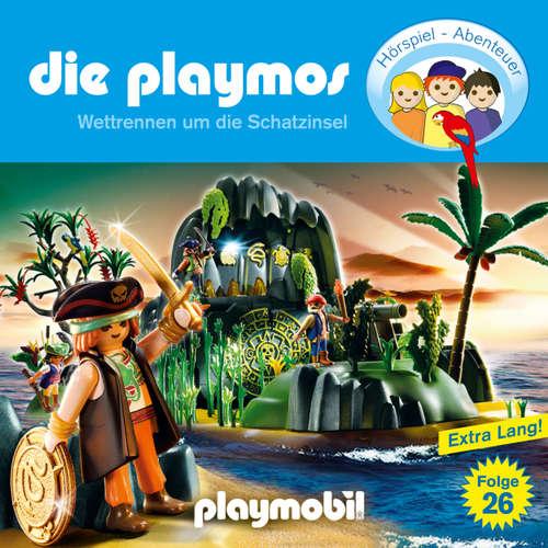 Hoerbuch Die Playmos - Das Original Playmobil Hörspiel, Folge 26: Wettrennen um die Schatzinsel - Simon X. Rost - Gerrit Schmidt-Foß