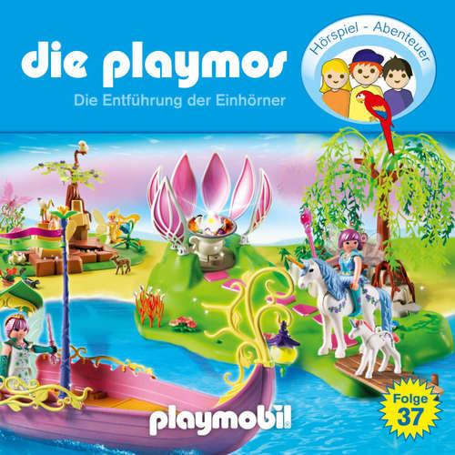Hoerbuch Die Playmos - Das Original Playmobil Hörspiel, Folge 37: Die Entführung der Einhörner - David Bredel - Gerrit Schmidt-Foß