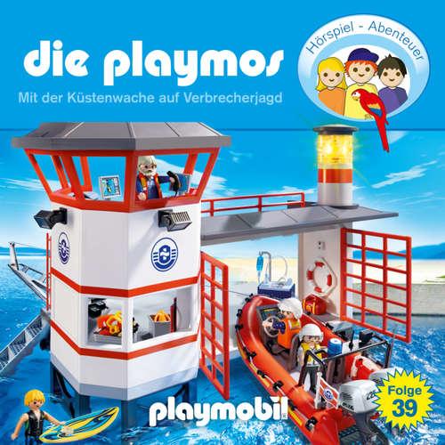 Hoerbuch Die Playmos - Das Original Playmobil Hörspiel, Folge 39: Mit der Küstenwache auf Verbrecherjagd - Simon X. Rost - Gerrit Schmidt-Foß