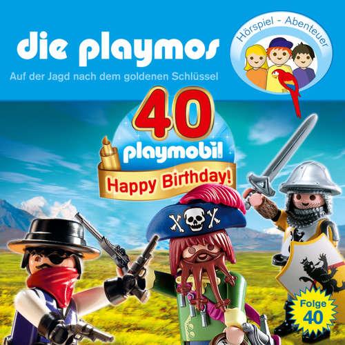 Hoerbuch Die Playmos - Das Original Playmobil Hörspiel, Folge 40: Auf der Jagd nach dem goldenen Schlüssel - David Bredel - Gerrit Schmidt-Foß