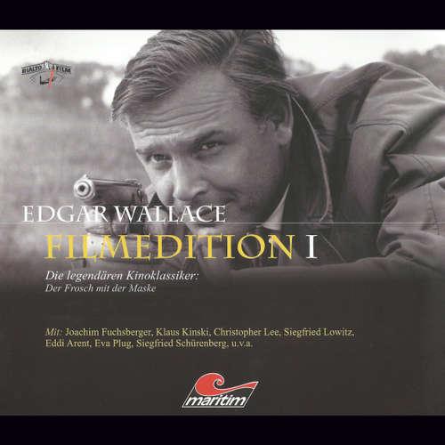 Hoerbuch Edgar Wallace - Filmedition, Folge 1: Der Frosch mit der Maske - Edgar Wallace - Siegfried Lowitz