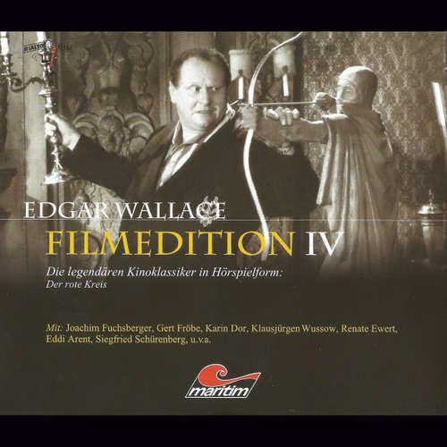 Hoerbuch Edgar Wallace - Filmedition, Folge 10: Der rote Kreis - Edgar Wallace - Karl-Georg Saebisch