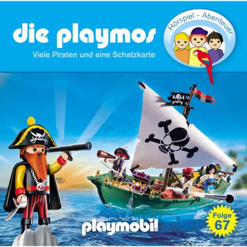 Hoerbuch Die Playmos, Folge 67: Viele Piraten und eine Schatzkarte - David Bredel & Florian Fickel - Gerrit Schmidt-Foß