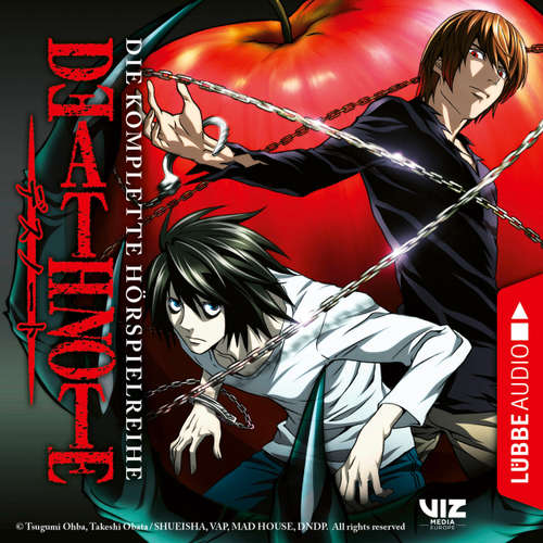 Hoerbuch Death Note, Folge 1-12: Sammelband - Tsugumi Ohba - David Turba