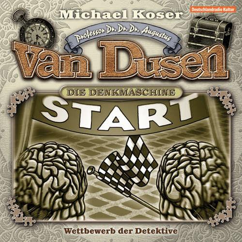 Hoerbuch Professor van Dusen, Folge 8: Wettbewerb der Detektive - Michael Koser - Friedrich W. Bauschulte