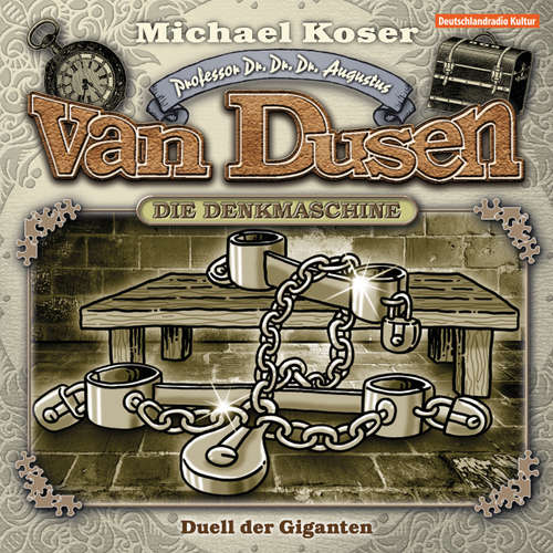 Hoerbuch Professor van Dusen, Folge 16: Duell der Giganten - Michael Koser - Friedrich W. Bauschulte