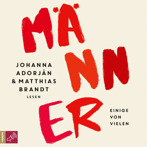 Hoerbuch Männer - Johanna Adorján - Johanna Adorján