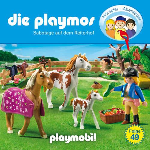Hoerbuch Die Playmos - Das Original Playmobil Hörspiel, Folge 49: Sabotage auf dem Reiterhof - David Bredel - Gerrit Schmidt-Foß