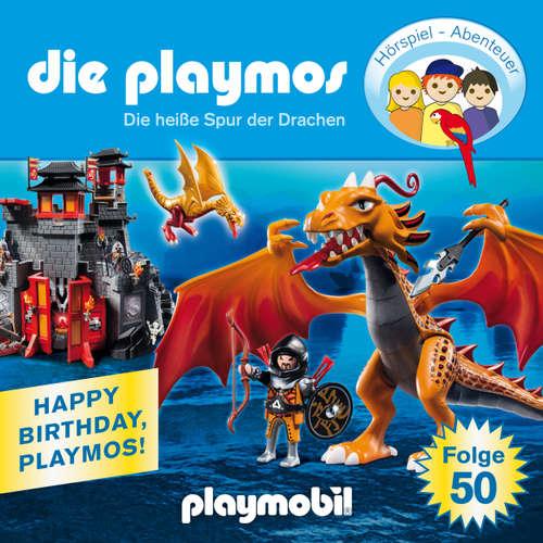 Hoerbuch Die Playmos - Das Original Playmobil Hörspiel, Folge 50: Die heiße Spur der Drachen - Simon X. Rost - Gerrit Schmidt-Foß