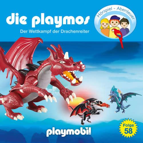 Hoerbuch Die Playmos - Das Original Playmobil Hörspiel, Folge 58: Wettkampf der Drachenreiter - David Bredel - Gerrit Schmidt-Foß