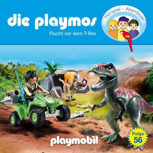Hoerbuch Die Playmos - Das Original Playmobil Hörspiel, Folge 56: Flucht vor dem T-Rex - David Bredel - Gerrit Schmidt-Foß