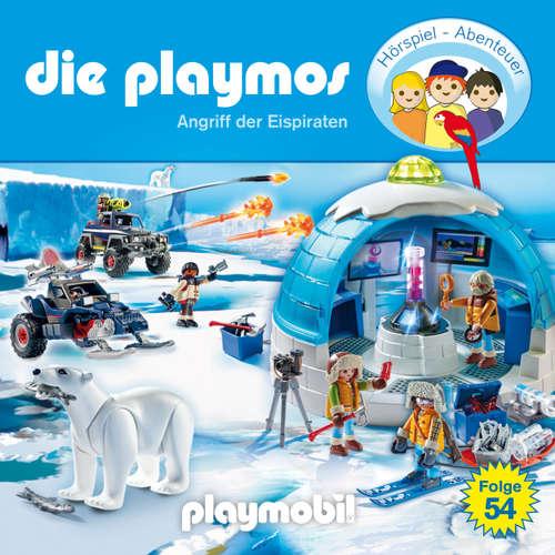 Hoerbuch Die Playmos - Das Original Playmobil Hörspiel, Folge 54: Angriff der Eispiraten - David Bredel - Gerrit Schmidt-Foß