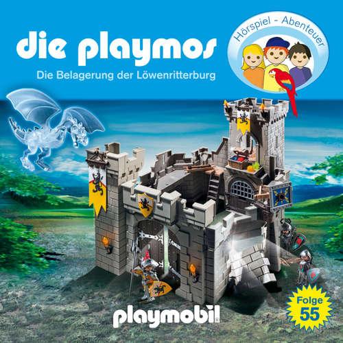 Hoerbuch Die Playmos - Das Original Playmobil Hörspiel, Folge 55: Die Belagerung der Löwenritterburg - David Bredel - Gerrit Schmidt-Foß