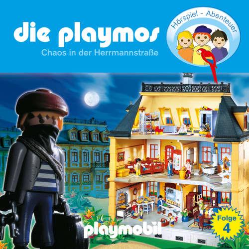 Hoerbuch Die Playmos - Das Original Playmobil Hörspiel, Folge 4: Chaos in der Herrmannstrasse - Simon X. Rost - Gerrit Schmidt-Foß