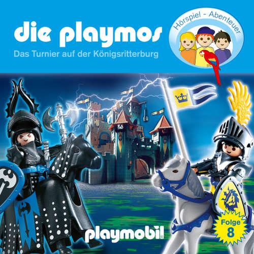 Hoerbuch Die Playmos - Das Original Playmobil Hörspiel, Folge 8: Das Turnier auf der Königsritterburg - Simon X. Rost - Gerrit Schmidt-Foß