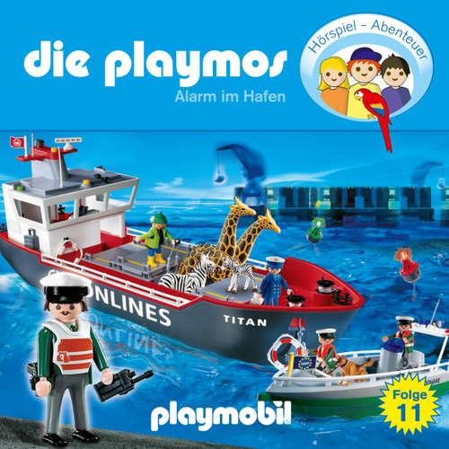 Hoerbuch Die Playmos - Das Original Playmobil Hörspiel, Folge 11: Alarm im Hafen - Simon X. Rost - Gerrit Schmidt-Foß