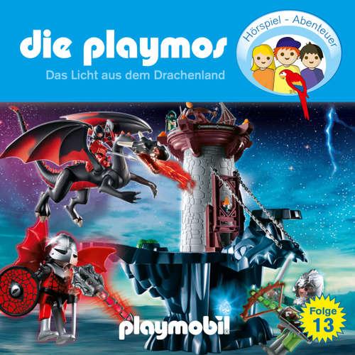 Hoerbuch Die Playmos - Das Original Playmobil Hörspiel, Folge 13: Das Licht aus dem Drachenland - Simon X. Rost - Gerrit Schmidt-Foß